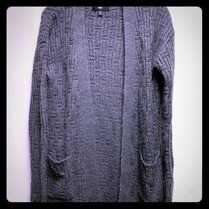 Charcoal Chunky Sweater